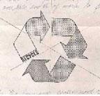 Gary Dean Anderson Original Recycle Symbol